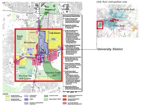 Figure II-1: Diagram of University District