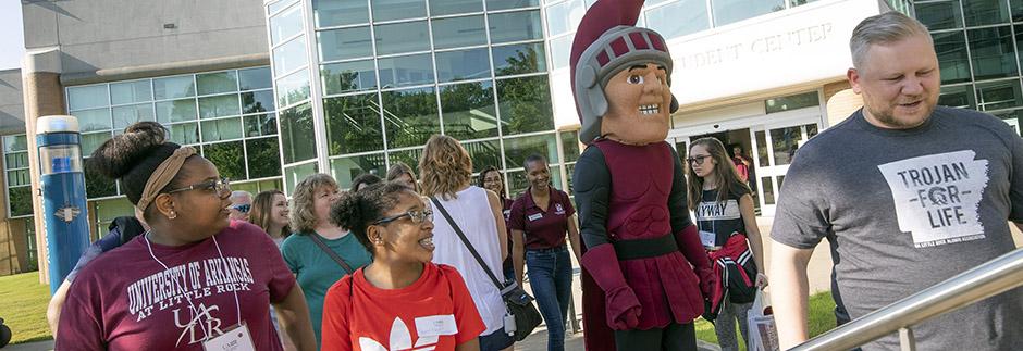 UA Little Rock recruiters
