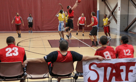 Faculty-Student Basketball Game 2