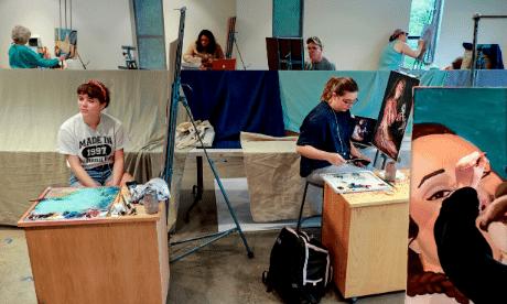 Painting Class Windgate Center
