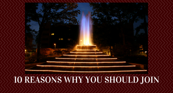 10 Reasons Why you Should Join