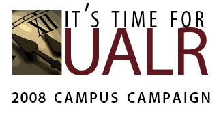 UALR It's Time Logo