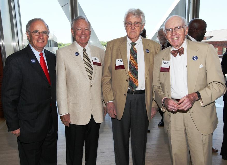 UALR Distinguished Alumni Award Winners: Don Riggin 73; Sam Bracy '61; John Ward '68; E. Kearney Dietz '54 '83
