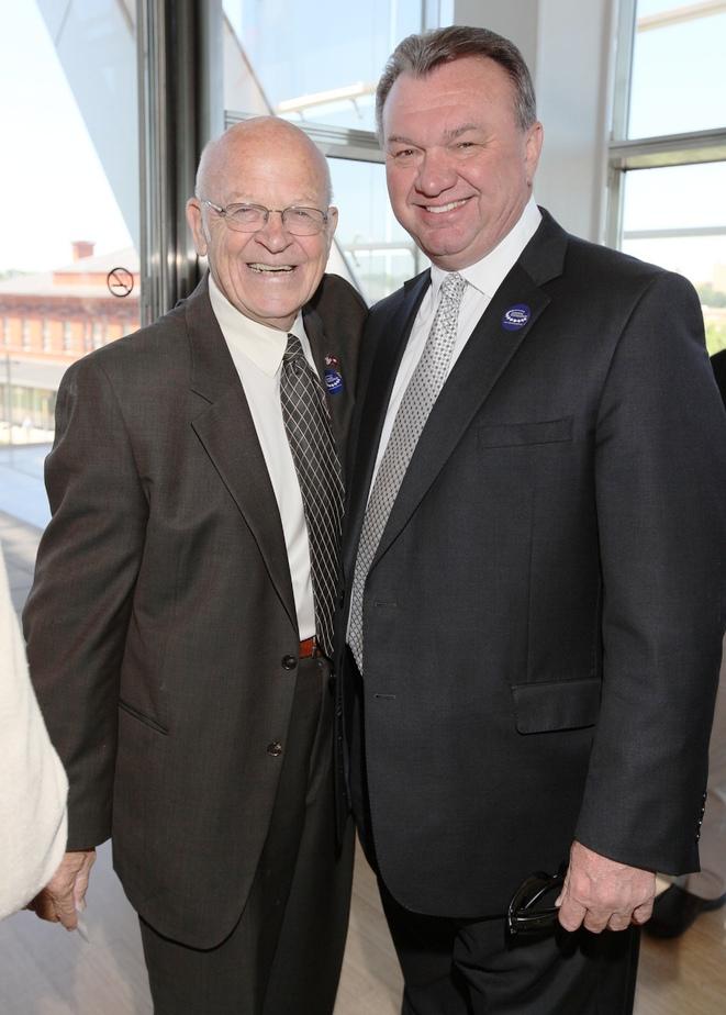 Harold Steelman '54: UALR Athletic Director, Chris Peterson