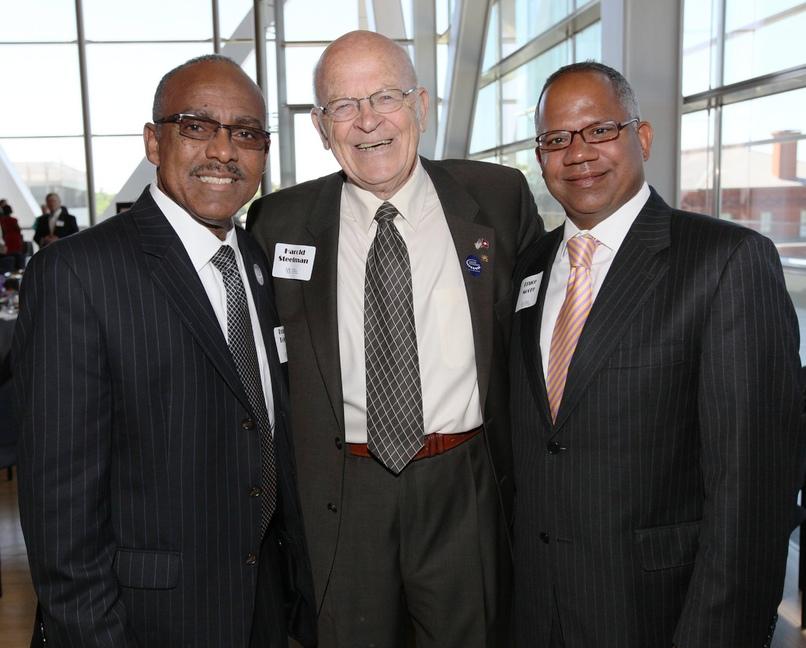 Truman Tolfree; UALR 2012 Presidents Award Winner, Harold Steelman '54; Little Rock City Manager, Bruce Moore