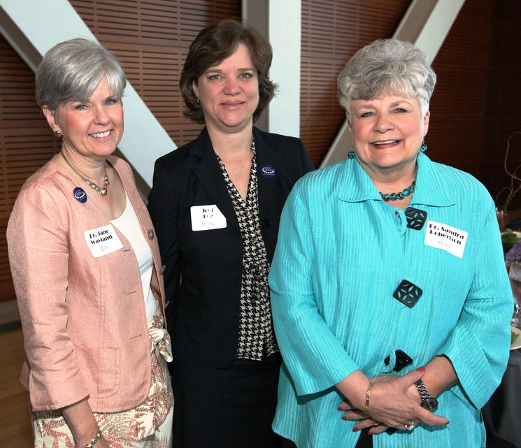 Dr. Jane Wayland; Joni Lee '87 '98; Dr. Sandra Robertson '95