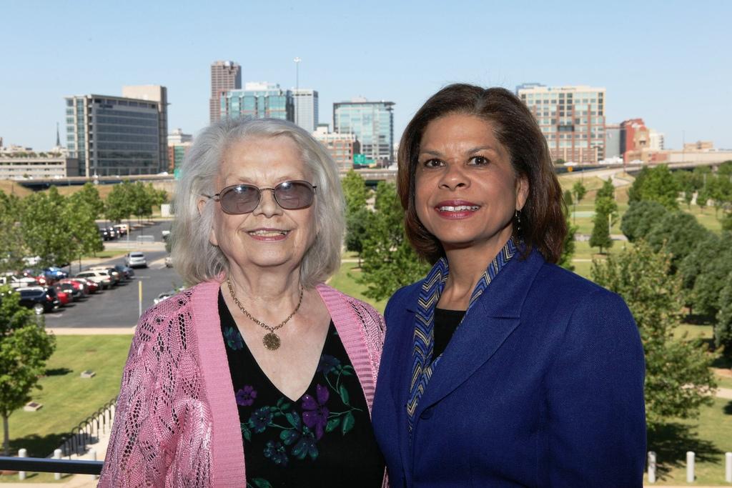 Mother of 2012 Distinguished Alumna, Sigrid Washington; Brenda Donald '93