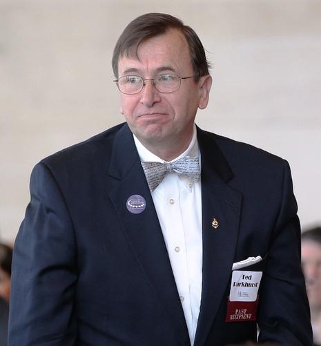 1999 Distinguished Alumnus, Ted Parkhurst '70