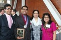 2013 Whitbeck Award Winner Hamza Arshad and Family