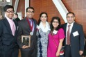 Whitbeck Award Winner Hamza Arshad and Family