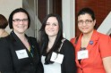 2013 Alumni Student Scholarship Recipients Wendy Lyons, Danielle Kemmer and Ayushi Saraswat