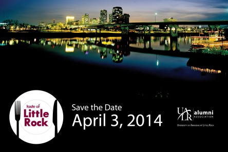 Save the Date - Taste of Little Rock 2014