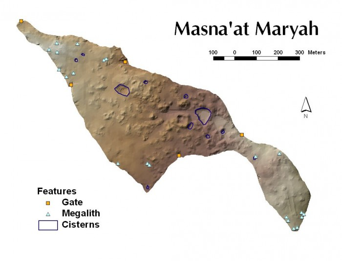 Masna'at Maryah Map