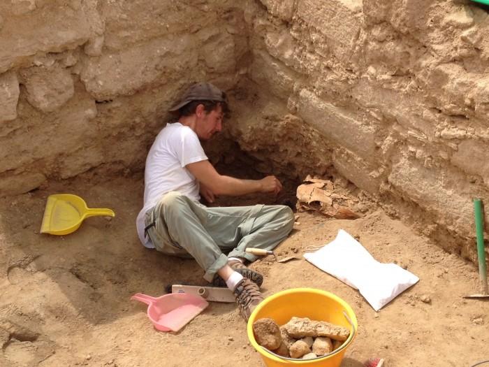 Devin Sorrows Excavates at Al Baleed in Oman