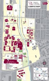 ualr campus map 2015