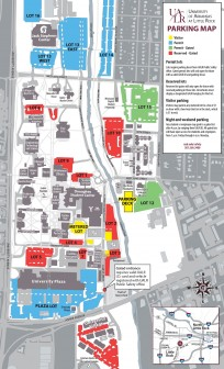 ualr parking map 2015