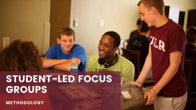 Student-led Focus Groups