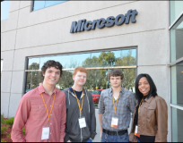 Students participate in Microsoft Imagine Cup Accelerator Program, Silicon Valley