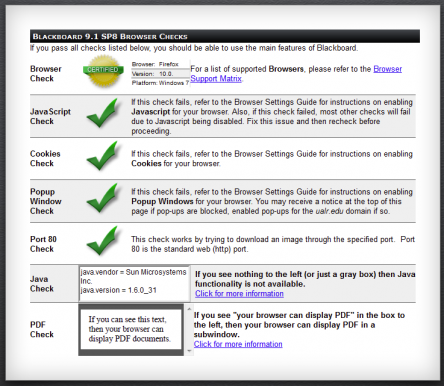 Image showing compatibility check success messages
