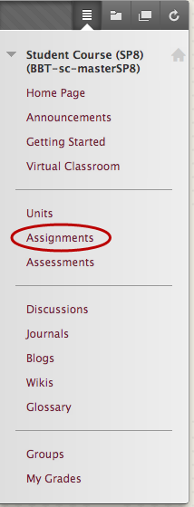 Accessing Assignments