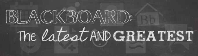 Blackboard Updates