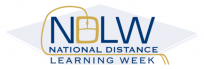 National Distance Learning Week logo