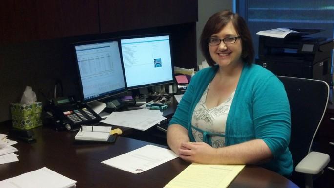 Sandra Ott, Assistant Bursar