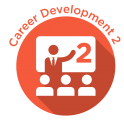 Career Development 2 Badge - orange