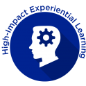 High-Impact Experiential Learning Badge - Blue