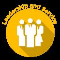 Leadership and Service Badge - yellow