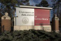 UA Little Rock exterior sign
