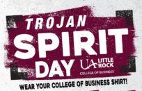 Trojan Spirit Days Fall 2019 logo