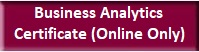 Business Analytics Certificate Online Only Button