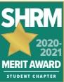 SHRM 2020-2021 superior merit award badge