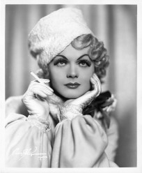 Portrait of Harvey Wilson Lee Goodwin posing as Jean Harlow