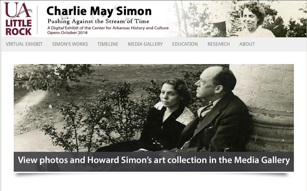 Charlie May Simon: Pushing Against the Stream of Time