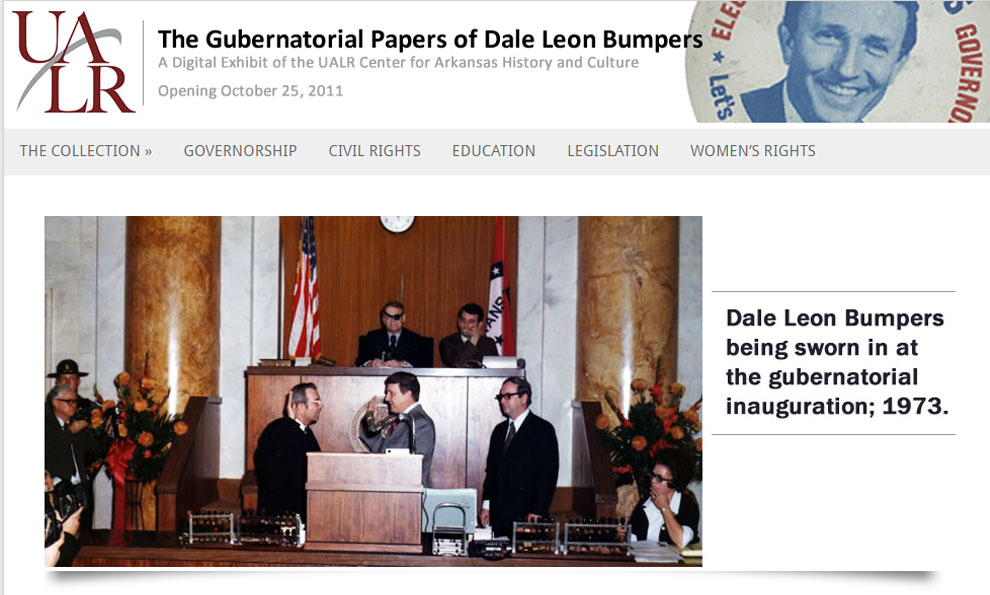 Gubernatorial Papers of Dale Bumpers