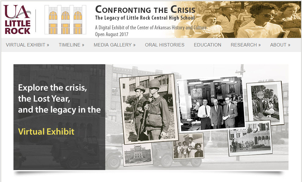Confronting the Crisis: The Legacy of Little Rock Central High School