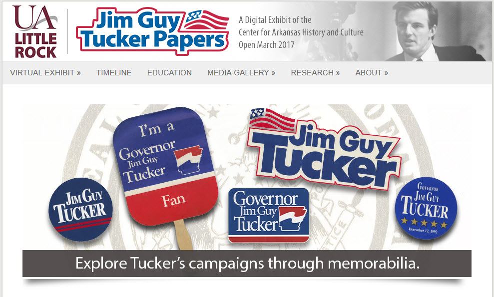 Jim Guy Tucker Papers
