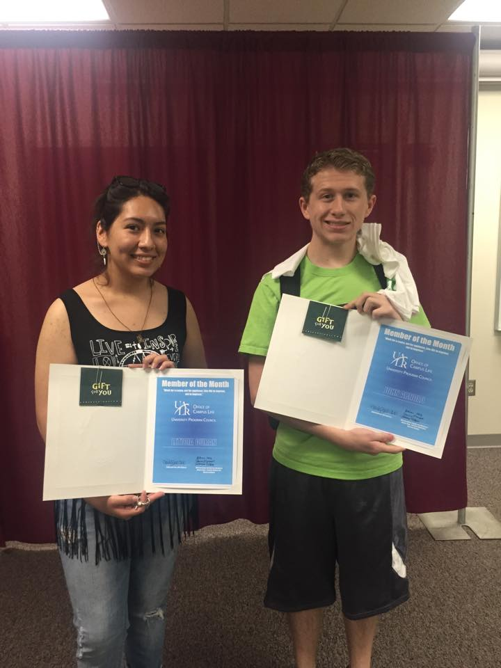 UPC March and April Members of the Month: John Arnold and Leticia Durnan!