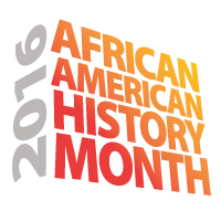 logo for African American History Month
