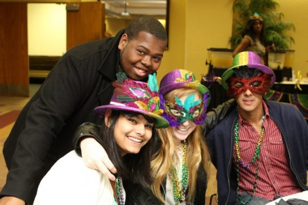 photo of UPC Mardi Gras