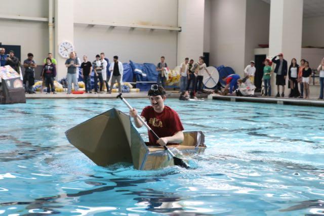 Homecoming Cardboard Boat Regatta