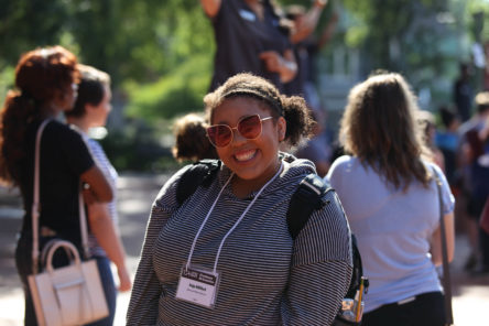 UA Little Rock Student smiling