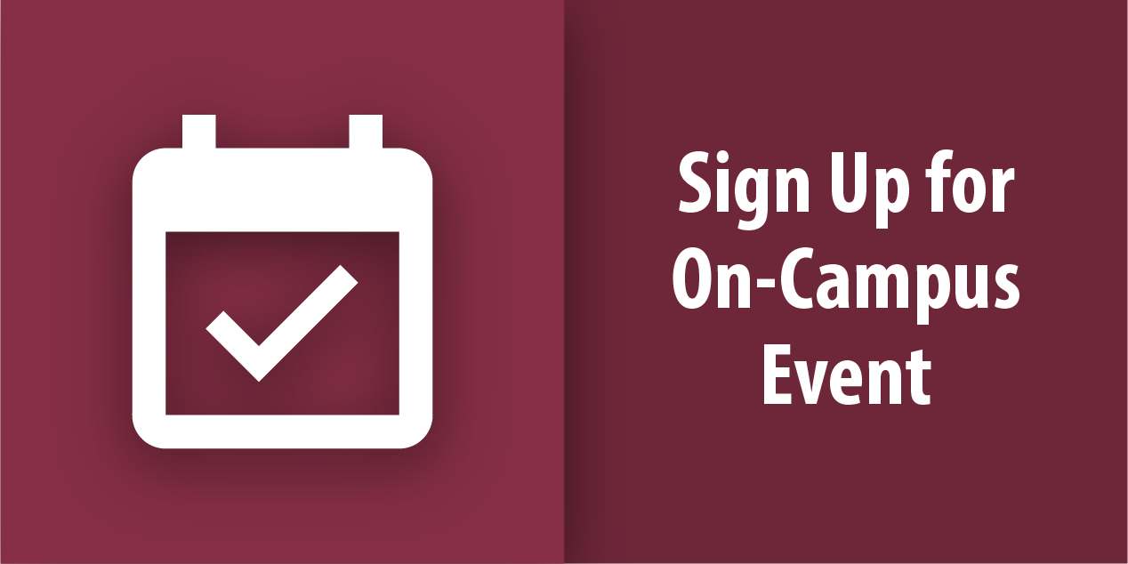 Sign Up for On-Campus Event Button