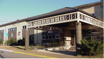 UA Little Rock Benton center building