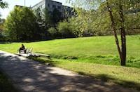 ETAS building on campus