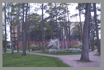 Ross Hall on campus