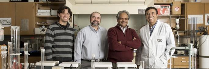Drs. Allan Thomas, Brian Berry, Nawab Ali, and Tito Viswanathan