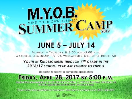 MYOB Summer Camp